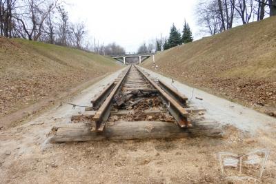 Реконструкция путей на перегоне