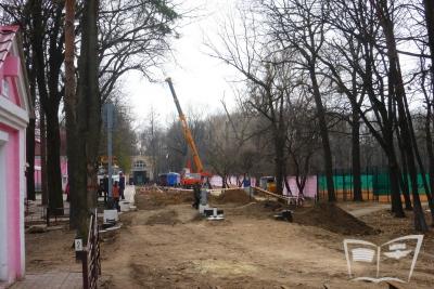 Продолжение реконструкции путей на ст. Парк