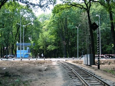 Новый переезд (открыт 23 августа 2010 года)