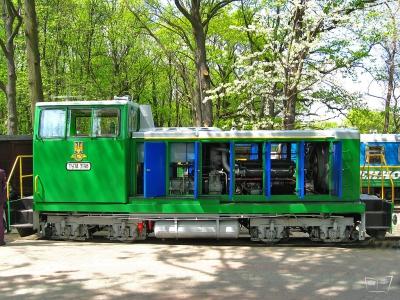 ТУ7А-3198 возле депо на ст. Парк