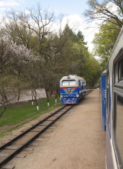 ТУ2-054 на втором пути ст. Парк