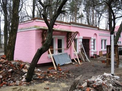 Капитальный ремонт хозяйственного помещения на ст. Парк