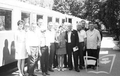 Делегация из Чехословакии на Малой Южной