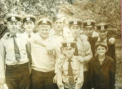 Юные железнодорожники 1970 года