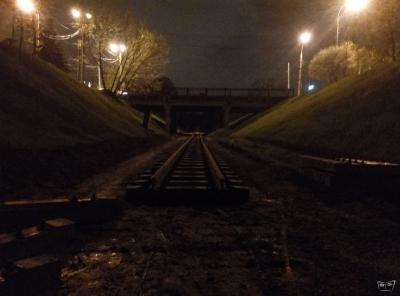Новый путь ночью
