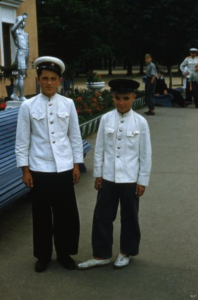 Юные железнодорожники 50-х