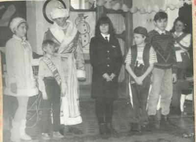 Празднование Нового года 1996