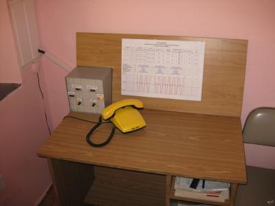 В кабинете диспетчера (ДНЦ) на ст. Парк