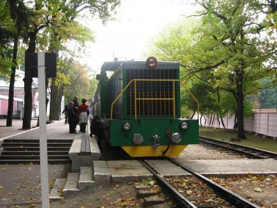 ТУ7А-3198 с составом 'Украина' на ст. Парк