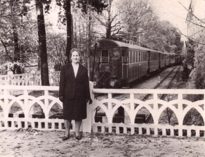 Состав из вагонов Pafawag в тупике на ст. Парк