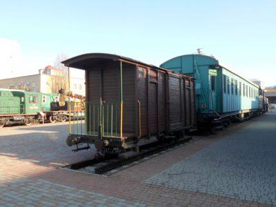 Грузовой вагон Малой Южной в музее ЮЖД