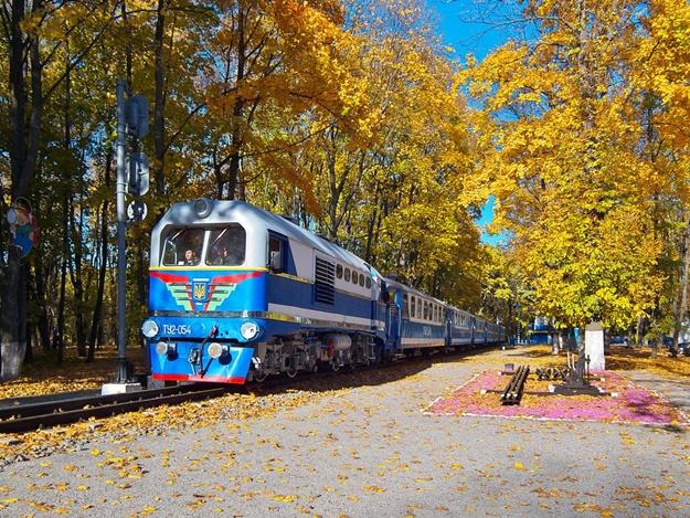 До весны: детская железная дорога в Харькове закрывает сезон
