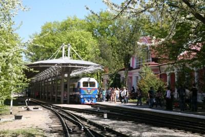 Упродовж травня – жовтня дитячою залізницею Мала Південна перевезено більше 16 тисяч пасажирів