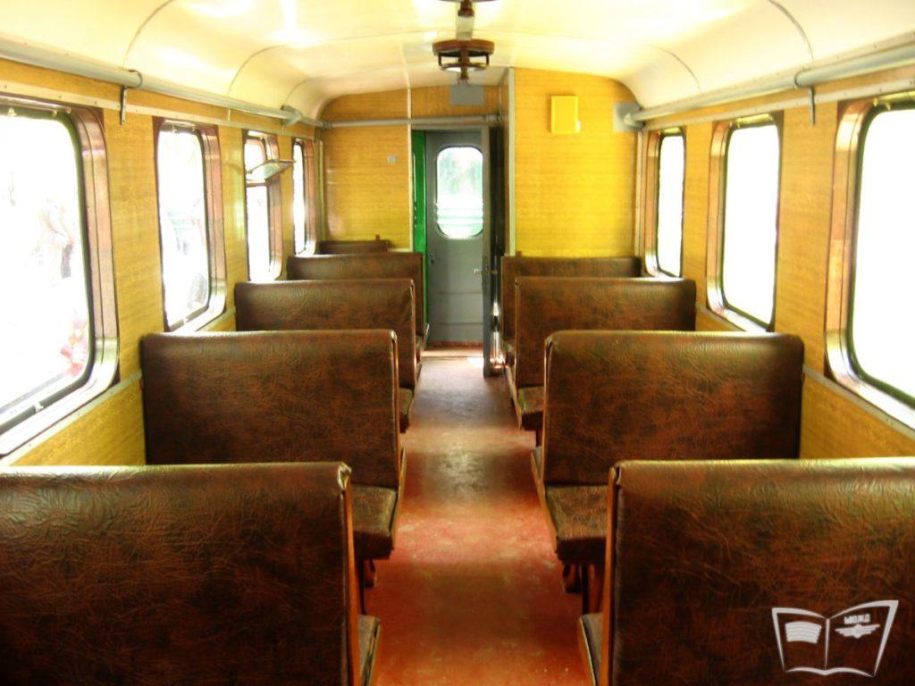 Интерьер мягкого вагона состава Юность Южной