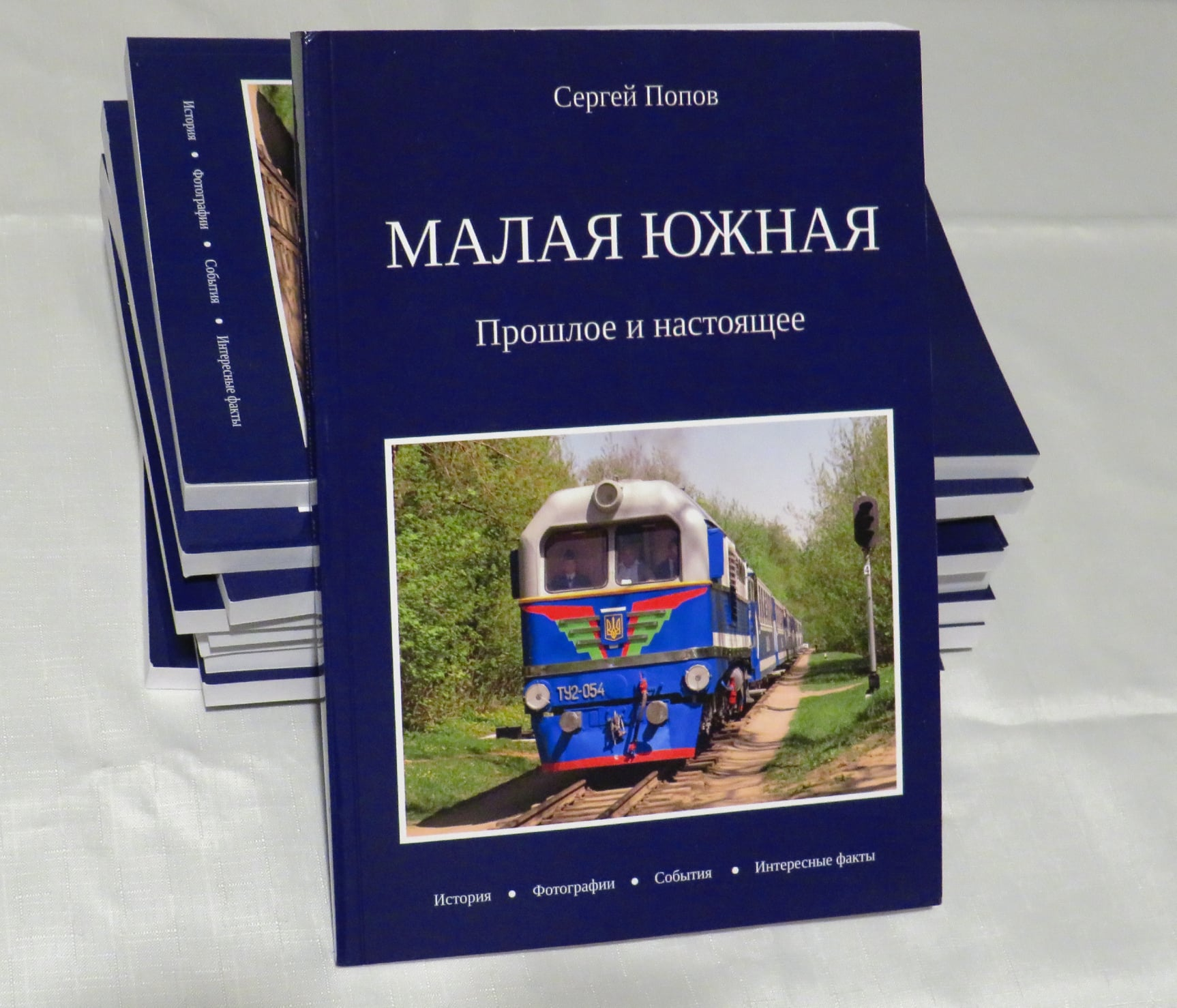 """Книга """"Малая Южная - прошлое и настоящее"""""""